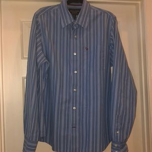 Abercrombie &Fitch men's button down dress shirt